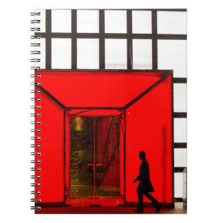 Caderno Espiral Centro comercial luxuoso de China, Beijing |