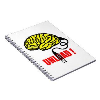 Caderno Espiral Cérebro a descarregar