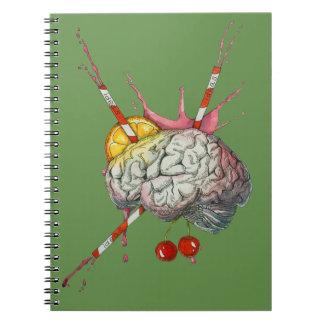 Caderno Espiral Cérebro suculento
