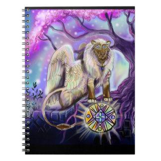 Caderno Espiral Céu Lion~notebook