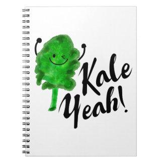 Caderno Espiral Chalaça positiva da couve - couve yeah!