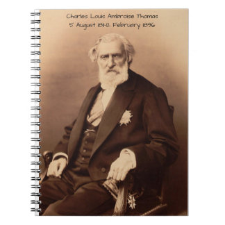 Caderno Espiral Charles Louis Ambroise Thomas