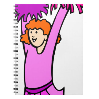 Caderno Espiral Cheerleader
