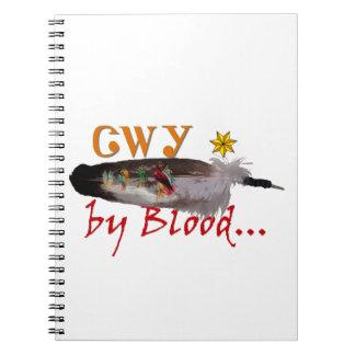 Caderno Espiral Cherokee pelo sangue