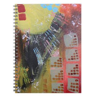 Caderno Espiral Cidade escura