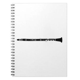 Caderno Espiral Clarinete