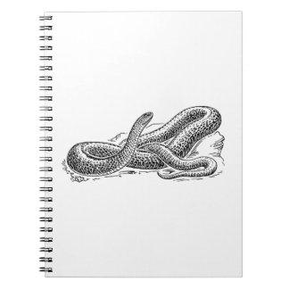Caderno Espiral Cobra