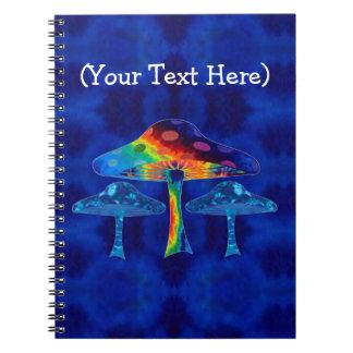 Caderno Espiral Cogumelos mágicos