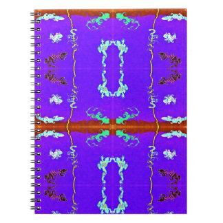 Caderno Espiral Coleção do lagarto:  Vívido