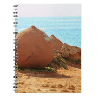 Caderno Espiral coleção do viagem. Chipre