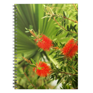 Caderno Espiral coleção floral