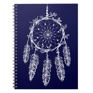 Caderno Espiral Coletor tribal do sonho de nativo americano dos