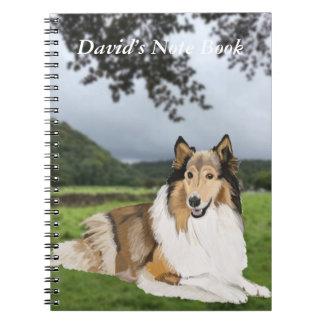 Caderno Espiral Collie áspero