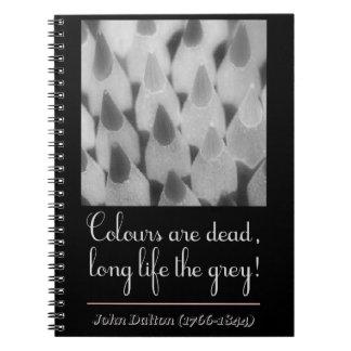 Caderno Espiral Colours are dead, long life the grey!