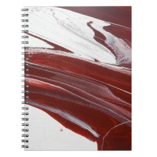 Caderno Espiral Colunas do rubi