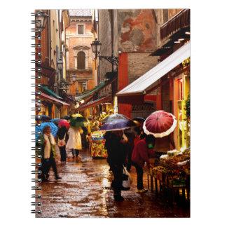 Caderno Espiral Comprar na chuva