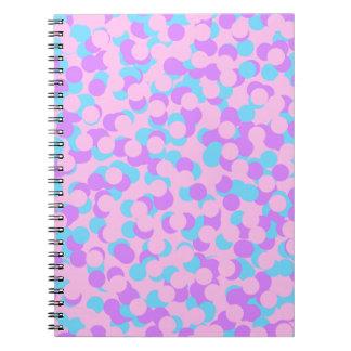 Caderno Espiral Confetes do querido