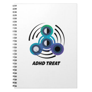 Caderno Espiral Consciência do girador ADHD da mão do brinquedo da