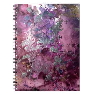 Caderno Espiral Contexto luminoso