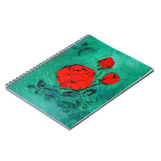 Caderno Espiral conversas roses