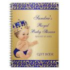 Caderno Espiral Convidado pequeno do presente do ouro do príncipe