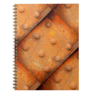 Caderno Espiral Cores da oxidação 07.2.2, Oxidação-Arte