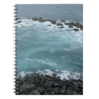 Caderno Espiral Costa da rocha