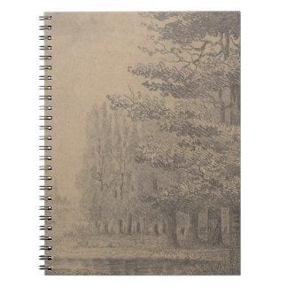 Caderno Espiral Criação da paisagem do Jesus Cristo