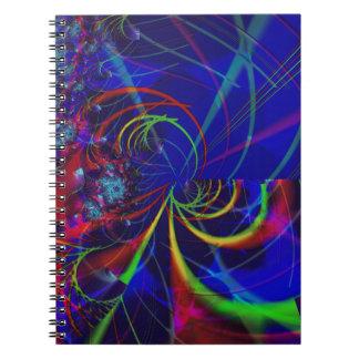 Caderno Espiral Crisântemos
