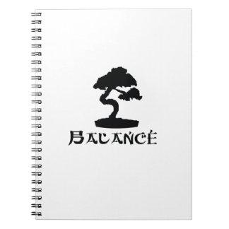 Caderno Espiral Cultura japonesa da tradição de Japão da árvore