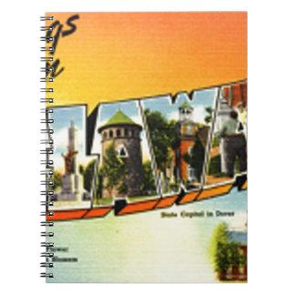 Caderno Espiral Cumprimentos de Delaware