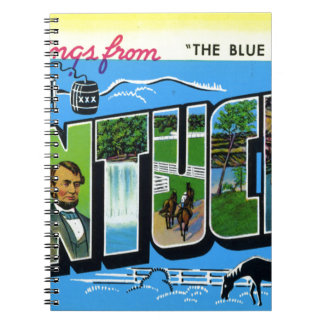 Caderno Espiral Cumprimentos de Kentucky