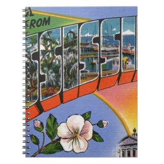 Caderno Espiral Cumprimentos de Mississippi