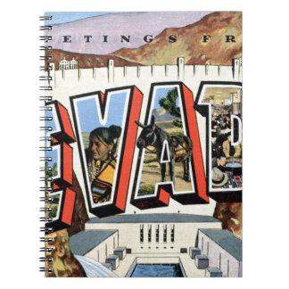 Caderno Espiral Cumprimentos de Nevada