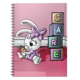 Caderno espiral da foto do cuidado (80 páginas