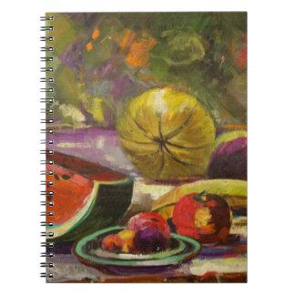 Caderno Espiral Da melancia vida ainda