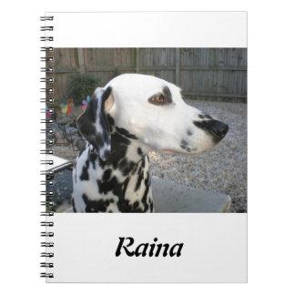 Caderno Espiral Dalmatian - o Reina de Cindy