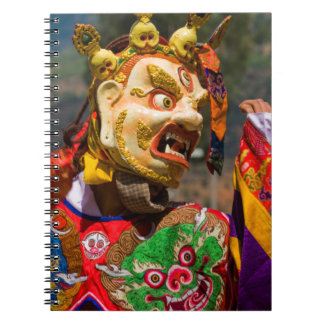 Caderno Espiral Dançarino do festival de Aisan