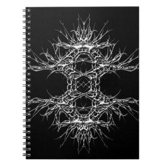 Caderno Espiral dark art 333