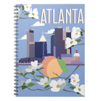Caderno espiral de Atlanta