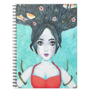 Caderno espiral de Koi