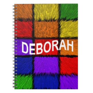CADERNO ESPIRAL DEBORAH