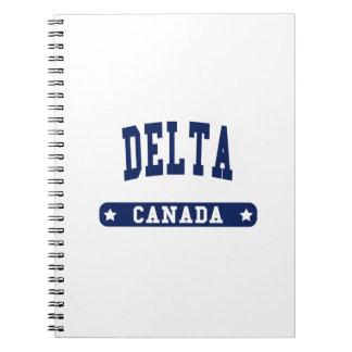Caderno Espiral Delta
