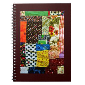 Caderno Espiral Design americano da edredão