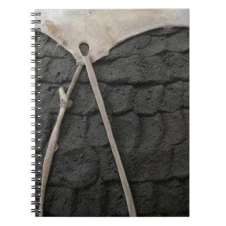 Caderno Espiral Design da cerâmica