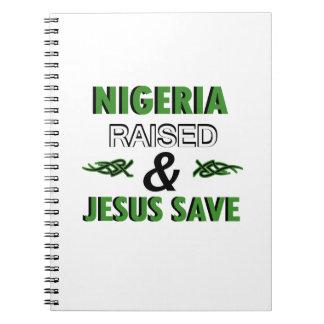 Caderno Espiral Design de Nigéria