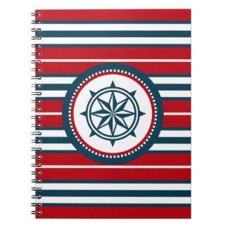 Caderno Espiral Design náutico