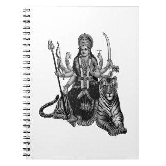 Caderno Espiral Deusa de Shiva