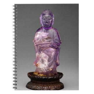 Caderno Espiral Dinastia assentada de Buddha - de Qing (1644-1911)