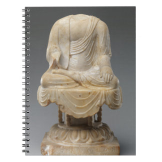 Caderno Espiral Dinastia decapitado de Buddha - de Tang (618-907)